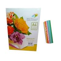 Бумага цветная А4 100л SuperMix 160 г/м2