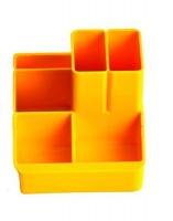 Подставка для ручек желтая СТРП-04