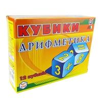 """Кубики пластм. """"Арифметика"""" 0243 Технок"""