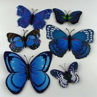Магнит Бабочка ассорти Цена за упак в упак 12шт  1-120 (22081)