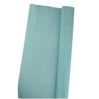 Гофрированная бумага голубая 110%  3-233 (22224)