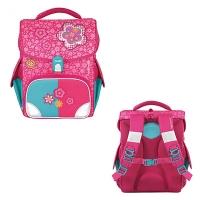 Рюкзак школьный розовый цветы Spring Time Jolly Collection girls TIGER TGJL-003A