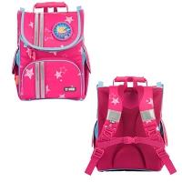 Рюкзак школьный розовый ролики Nature QuestTwinkle Stars girls TIGER NQSC-A03