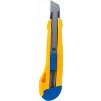 Нож универсальный 18мм пласт корпус BM.4617