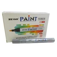 Маркер краска серебро 3мм SP-110 10-637  (23880)