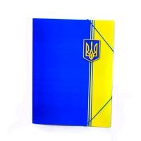 Папка на резинке А4 Eco-Eagle Украина 0,5мм 3005P