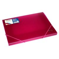 Папка коробка на резинке А4 700мкм ширина 3см ассорти Eco-Eagle 5345-00
