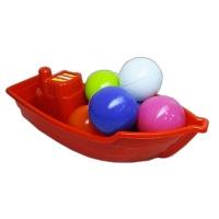 Лодочка с 6 шариками KW-01-117