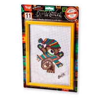 Набор креативного творчества Вышивка крестиком на канве Cross Stitch VKB-01,01,02,03,04,15