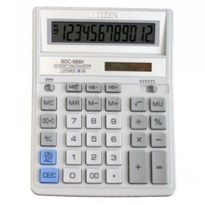 Калькулятор CITIZEN SDC-888 ХWH