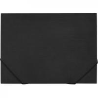 Папка на резинке А3 черная Е31629-01