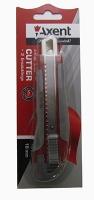 Нож трафаретный 18мм резные вставки Axent 6702-А