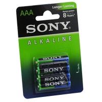 Батарейка мини пальчик LR03 SONY 1*4 коробка (цена за 1шт)
