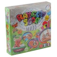 Набор креативного творчества Play Clay Soap пластилиновое мыло большой укр PCS-01-01U,02U