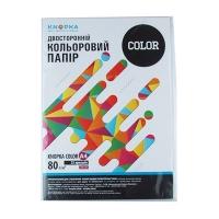 Бумага цветная А4 25л Knopka бледно-лиловый 80г/м2 LA12