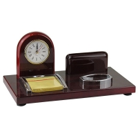 Набор настольный с часами малый 10-38 (25064)