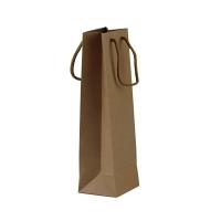 Пакет подарочный эко-крафт для бутылки 3-50 (21557)