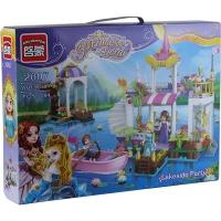 """Конструктор """"Brick"""" 2607 (12шт) Princess 394дет. 6+лет в кор. 41*30*6,5см 7 toys"""
