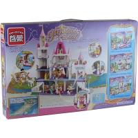 """Конструктор """"Brick"""" 2612 Princess (5шт) 940дет. 6+лет в собр. кор. 62*40*8см 7 toys"""
