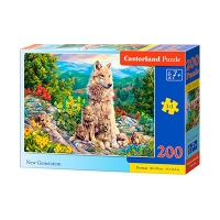 Пазлы Castorland волки 200 эл В-222087