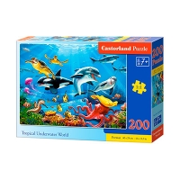 Пазлы Castorland морской мир 200 эл В-222094
