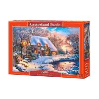 Пазлы Castorland зима 500 эл В-53278