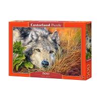 Пазлы Castorland волк 500 эл В-53285