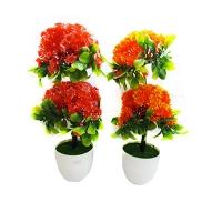 Цветы искусственные в горшке 8-184 (C1-7246)