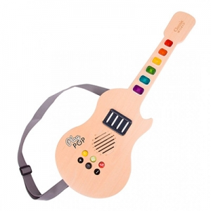 Игрушка деревянная  ТМ Classic World Гитара єлектр со звуком  5523