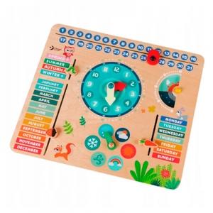 Игрушка деревянная ТМ Classic World Мой первый календарь 54211