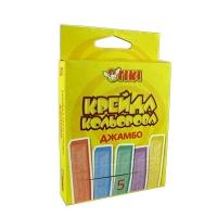 Мел цветной 5цв TIKI Jumbo 51514-ТК