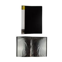 Папка А4 с 10 файлами Format черная F37601-01