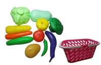 Корзинка с овощами 11 предметов KW-04-454