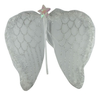 Набор праздничный Крылья ангела + палочка 5-234  7-182  С-1452