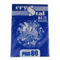 Бумага А4 100л CRISTAL PRO 80г/м2
