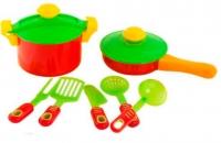 Посудка детская 9 предметов KW-04-433