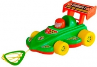 Каталка Спортивная Машина с веревочкой KW-06-604