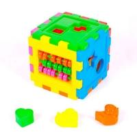 Сортер Логический куб со счетами KW-50-201