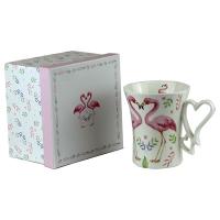 Чашка керамическая Фламинго 5-599