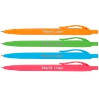 Ручка масляная синяя автомат Сolibri Axent AB1062-02-A