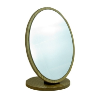 Зеркало овальное  на деревянной подставке R-79 5-663 (8088)
