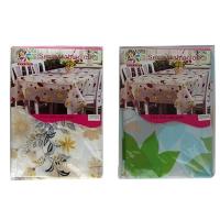 Скатерть клеенка Цветы 120*152 см 5-582 (16349)