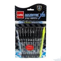 Ручка масляная черная Cello Maxriter XSBL 0710 8-111 (21576) 6-108