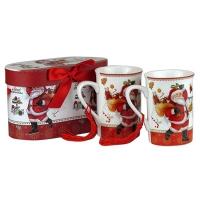 Чашка Sweet Christmas керамика цена за набор 2шт 5-592