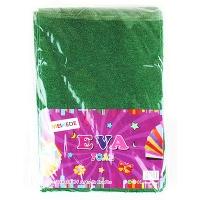 Фоамиран для творчества махра зеленый 10л 9-76 (22224)