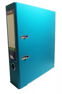 Папка регистратор А4 Economix 70 мм бирюзовая собранная Е39721-21