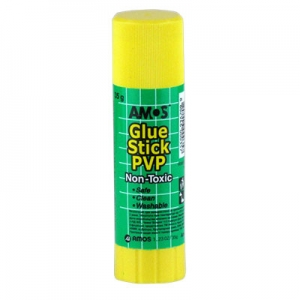 Клей карандаш 35г AMOS 3235