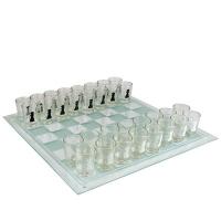 Шахматы рюмки стекло 55129