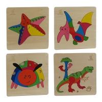 Игрушка деревянная развивающая сортер Зверюшки 9-659 (2228)