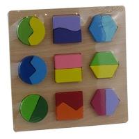 Игрушка деревянная развивающая сортер фигуры 9-663 (2228)